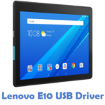 Lenovo E10 USB Driver