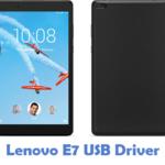 Lenovo E7 USB Driver