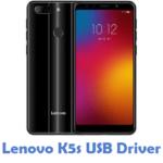Lenovo K5s USB Driver