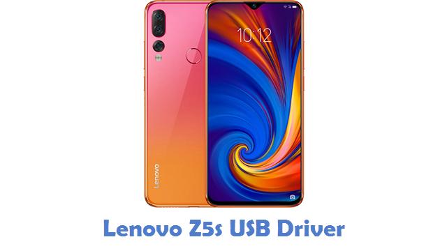 Lenovo Z5s USB Driver