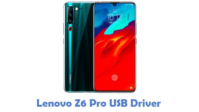 Lenovo Z6 Pro USB Driver