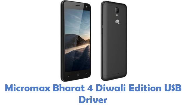Micromax Bharat 4 Diwali Edition USB Driver