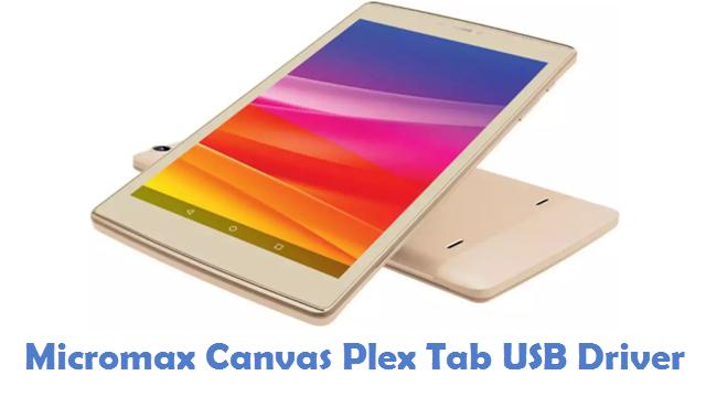 Micromax Canvas Plex Tab USB Driver