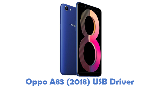 Oppo A83 (2018) USB Driver