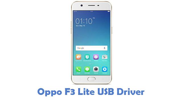 Oppo F3 Lite USB Driver