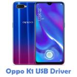 Oppo K1 USB Driver