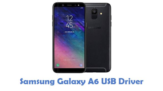 Samsung Galaxy A6 USB Driver