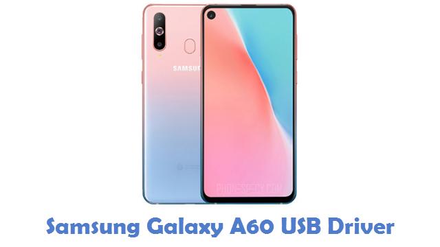 Samsung Galaxy A60 USB Driver
