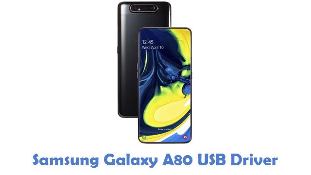 Samsung Galaxy A80 USB Driver