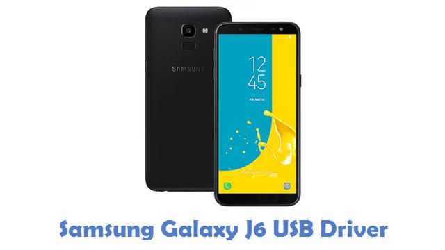 Samsung Galaxy J6 USB Driver