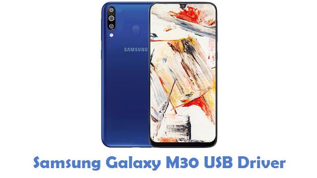 Samsung Galaxy M30 USB Driver