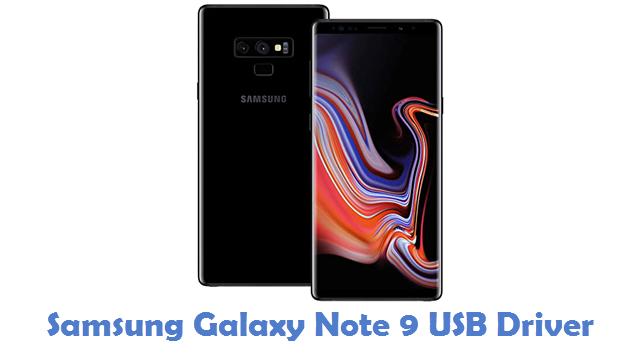 Samsung Galaxy Note 9 USB Driver