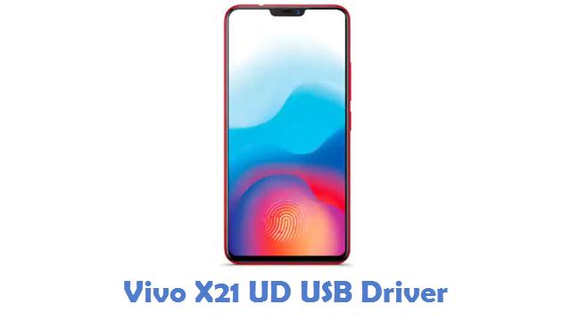 Vivo X21 UD USB Driver