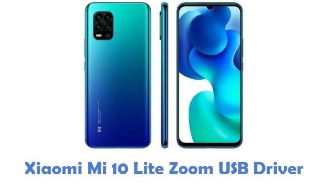 Xiaomi Mi 10 Lite Zoom USB Driver