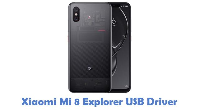 Xiaomi Mi 8 Explorer USB Driver
