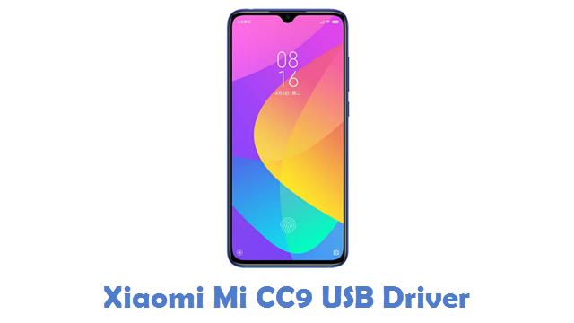 Xiaomi Mi CC9 USB Driver