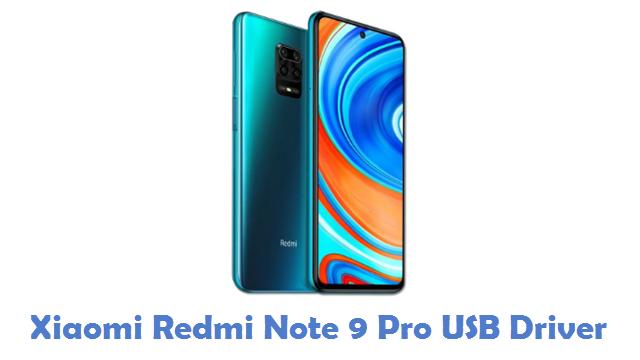 Xiaomi Redmi Note 9 Pro USB Driver