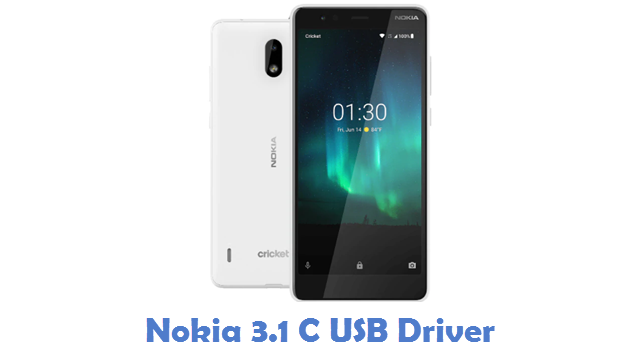 Nokia 3.1 C USB Driver