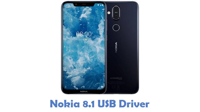 Nokia 8.1 USB Driver