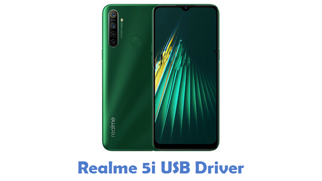 Realme 5i USB Driver