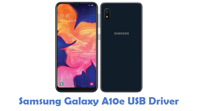 Samsung Galaxy A10e USB Driver