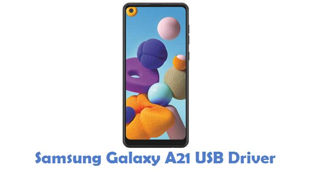 Samsung Galaxy A21 USB Driver