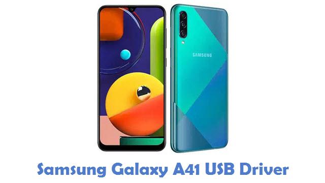 Samsung Galaxy A41 USB Driver