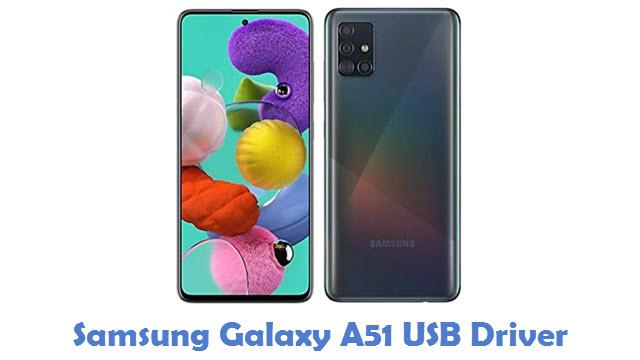 Samsung Galaxy A51 USB Driver