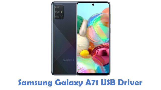 Samsung Galaxy A71 USB Driver