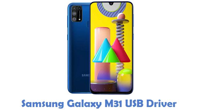 Samsung Galaxy M31 USB Driver