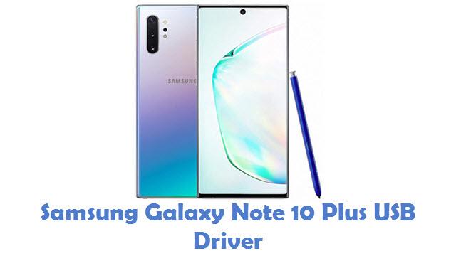 Samsung Galaxy Note 10 Plus USB Driver