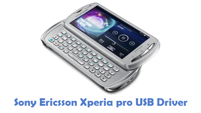 Sony Ericsson Xperia pro USB Driver