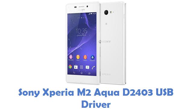 Sony Xperia M2 Aqua D2403 USB Driver