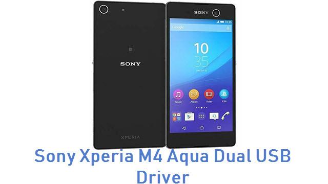 Sony Xperia M4 Aqua Dual USB Driver