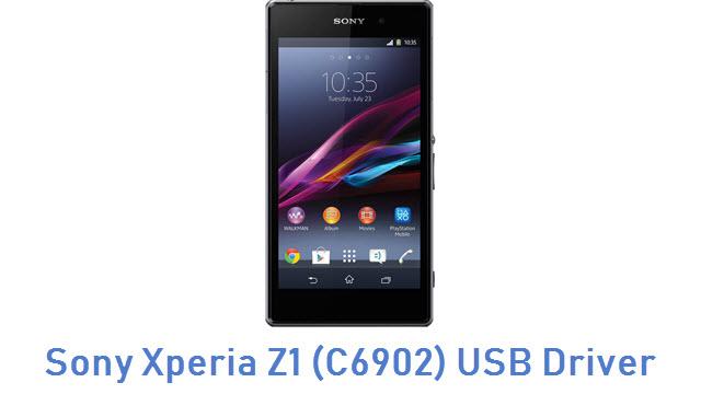 Sony Xperia Z1 (C6902) USB Driver