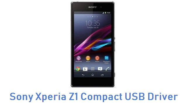 Sony Xperia Z1 Compact USB Driver