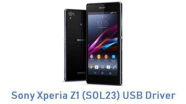 Sony Xperia Z1 (SOL23) USB Driver