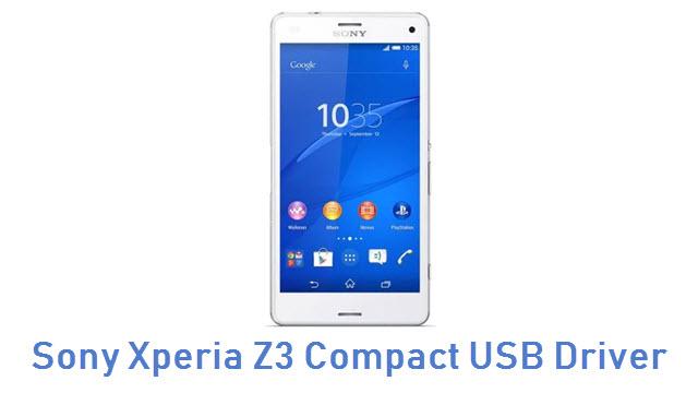 Sony Xperia Z3 Compact USB Driver