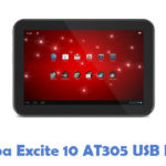 Toshiba Excite 10 AT305 USB Driver