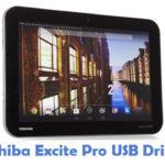 Toshiba Excite Pro USB Driver