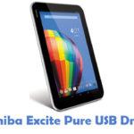 Toshiba Excite Pure USB Driver