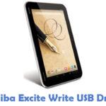Toshiba Excite Write USB Driver