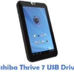 Toshiba Thrive 7 USB Driver