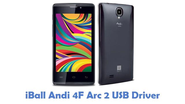 iBall Andi 4F Arc 2 USB Driver