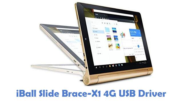 iBall Slide Brace-X1 4G USB Driver