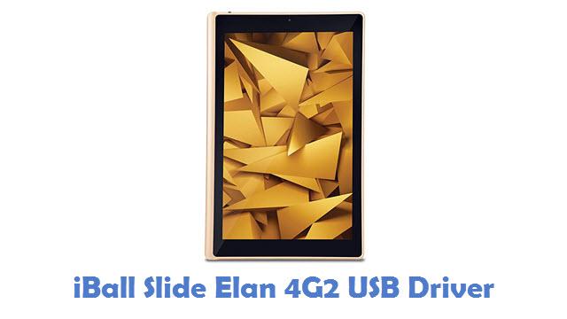 iBall Slide Elan 4G2 USB Driver