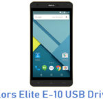 Colors Elite E-10 USB Driver