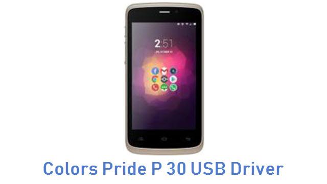 Colors Pride P 30 USB Driver