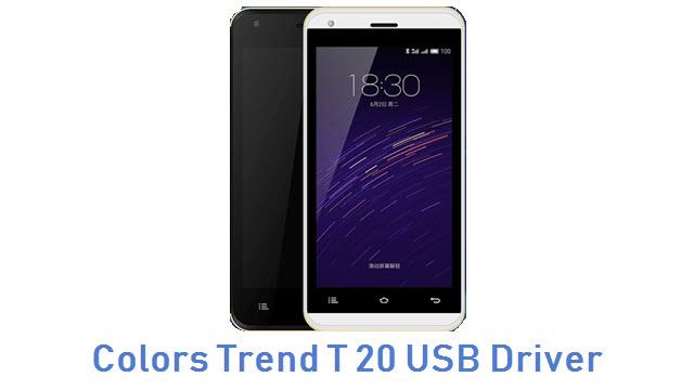 Colors Trend T 20 USB Driver