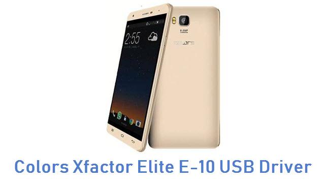 Colors Xfactor Elite E-10 USB Driver